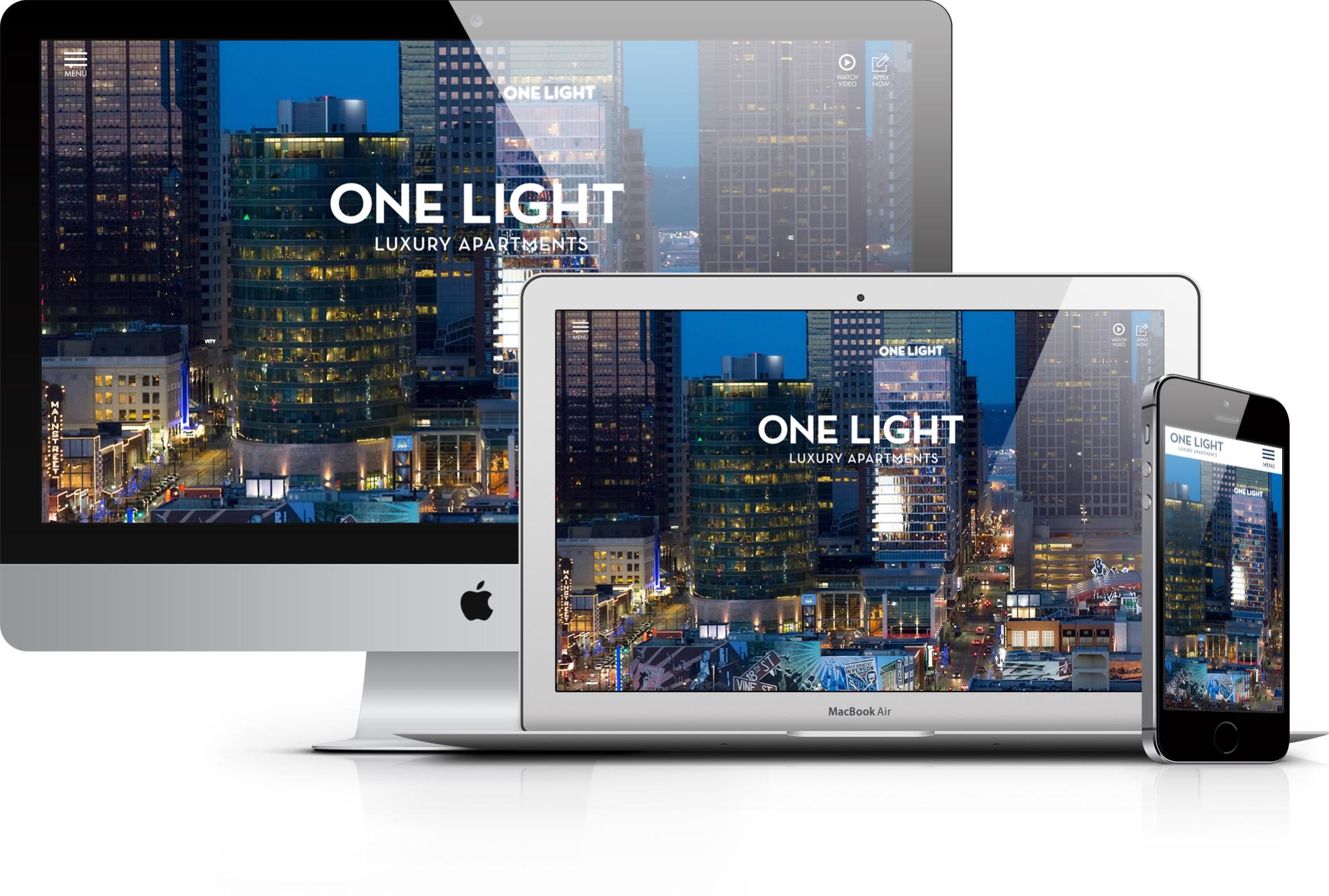One Light Website