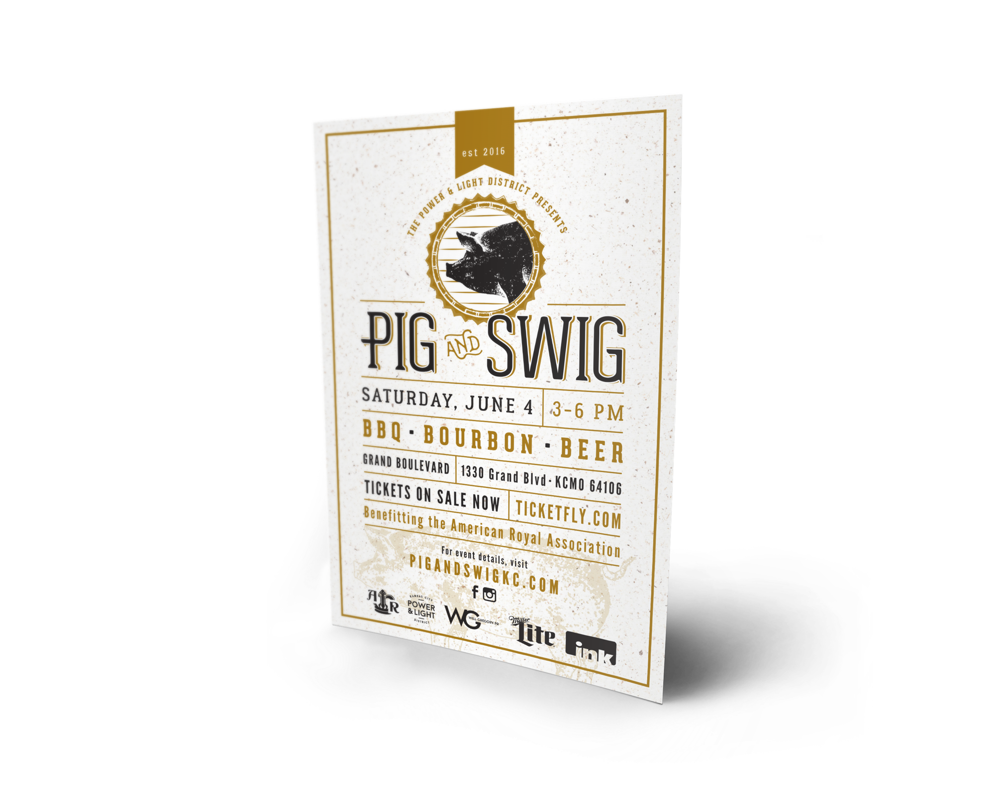 Pig and Swig Flyer
