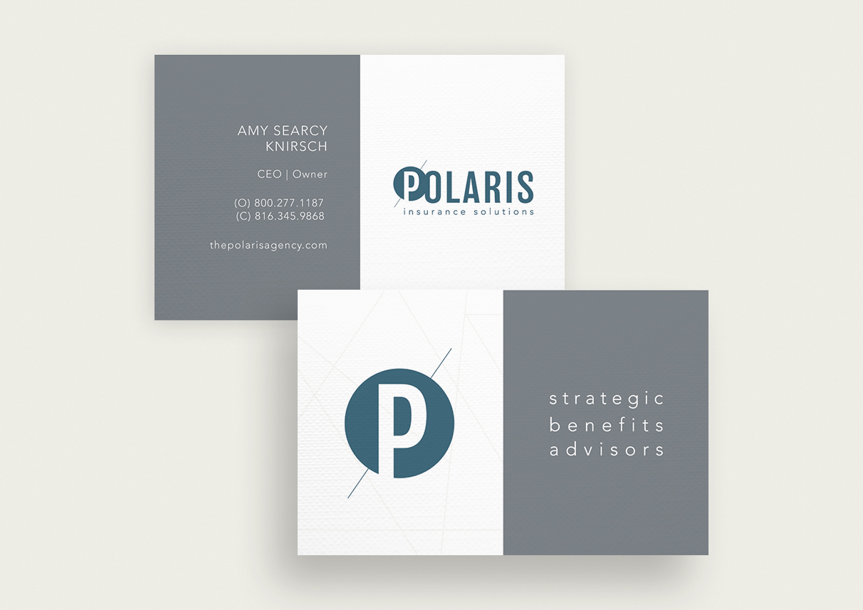 Polaris Insurance Solutions Business Cards