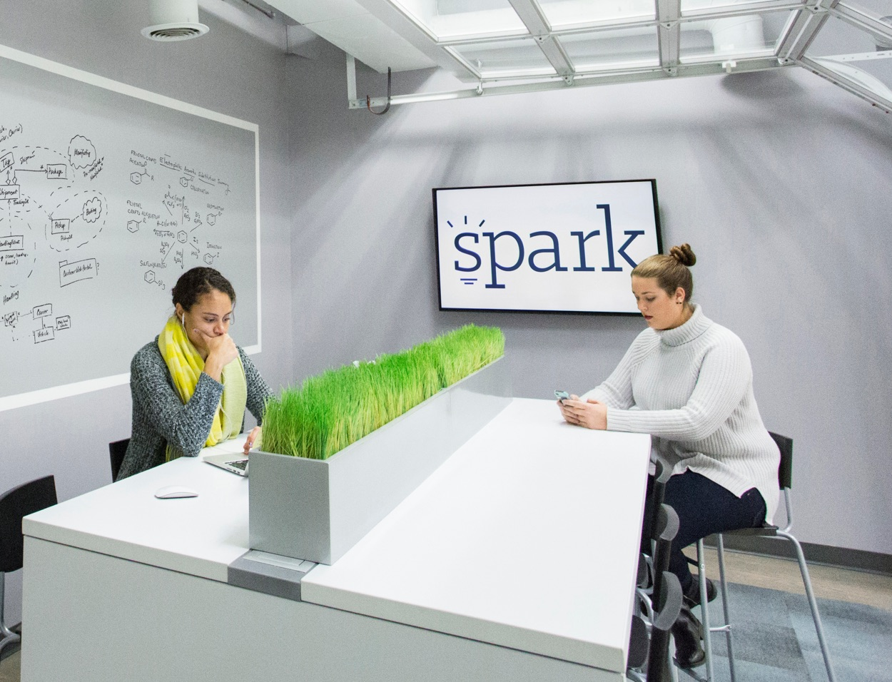 Spark Co-Working Logo